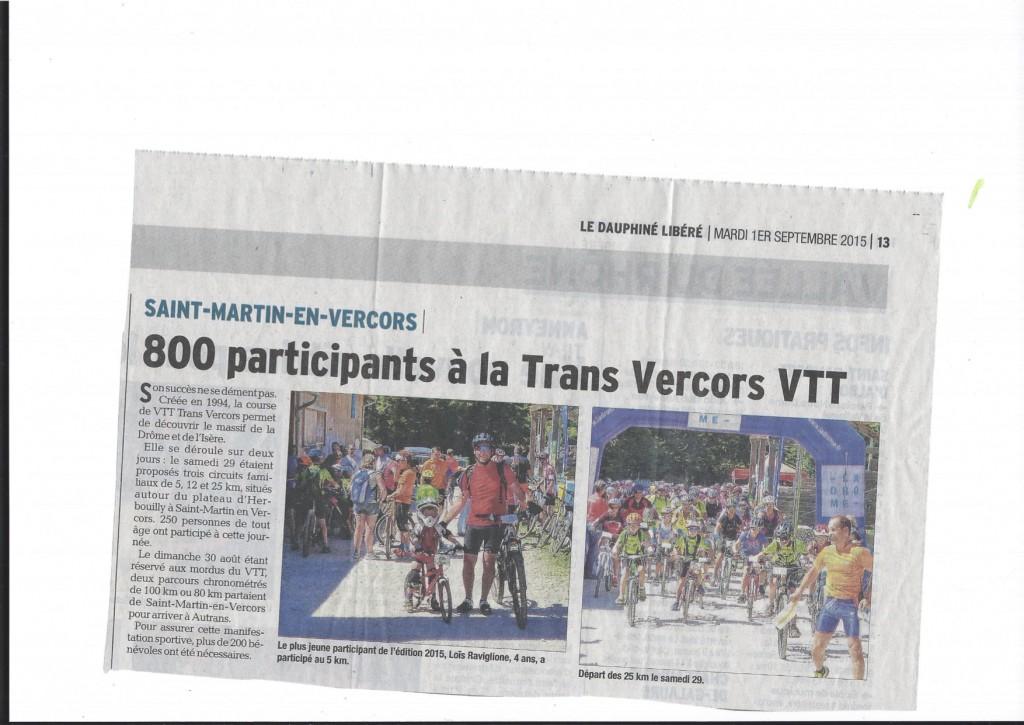 Article DL Drome Transvercors VTT 2015