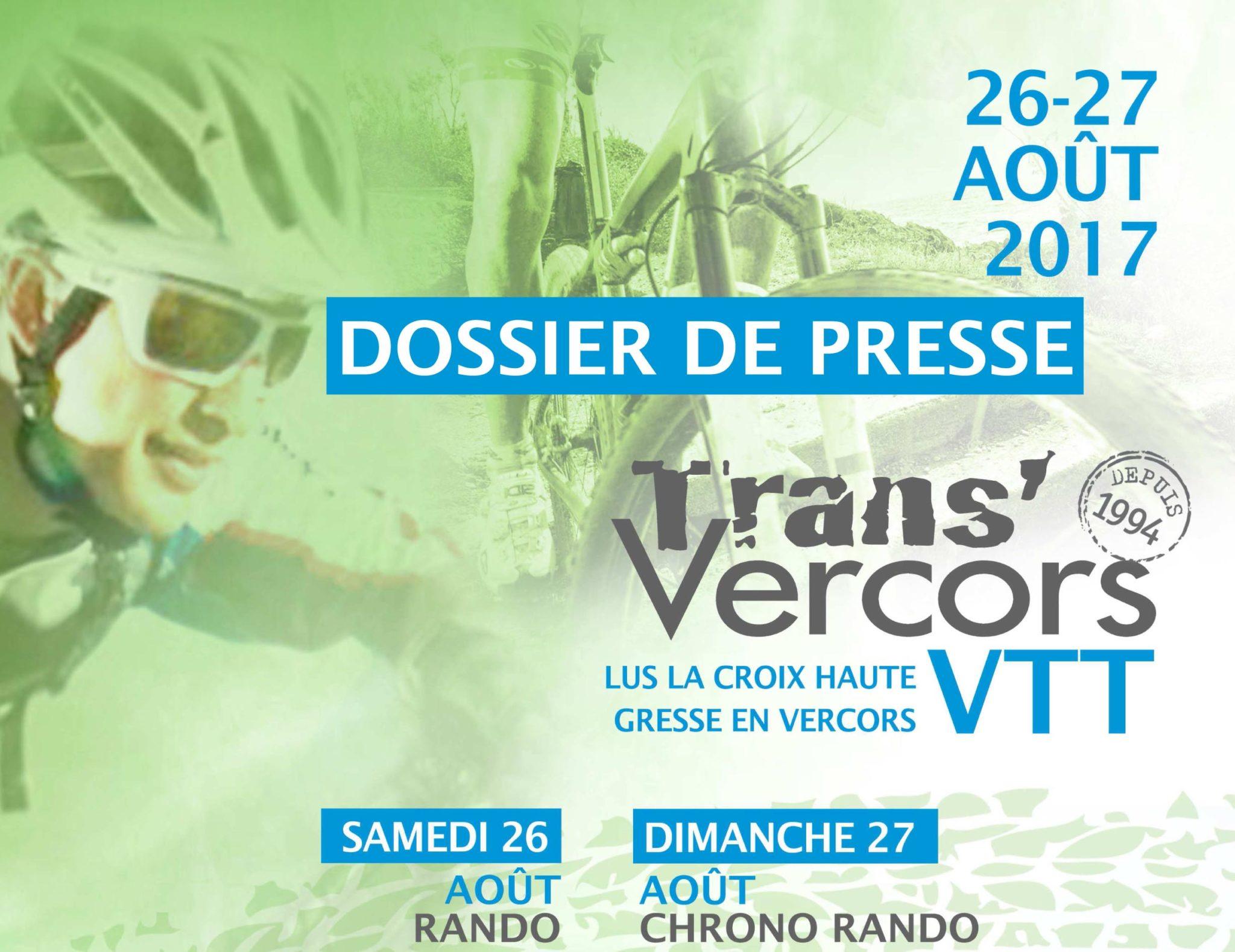 Dossier presse VTT Transvercors
